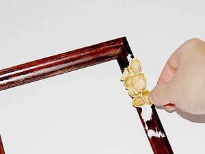 Мастер-класс: фисташковая рамка своими руками. Ярмарка Мастеров - ручная работа, handmade.
