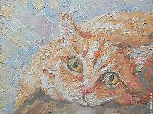 Рыжий котик в добрые руки! Розыгрыш! | Ярмарка Мастеров - ручная работа, handmade