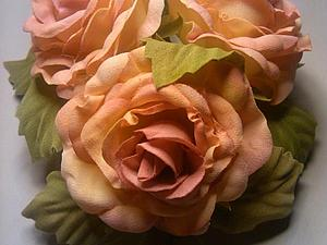 Мои цветы из шёлка | Ярмарка Мастеров - ручная работа, handmade