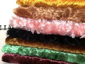 ЗАКРЫТ! Аукцион! Наборы винтажного плюшика | Ярмарка Мастеров - ручная работа, handmade