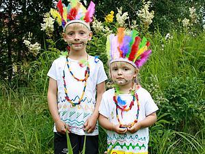 Делаем костюм индейцев: просто, бюджетно, но эффектно. Ярмарка Мастеров - ручная работа, handmade.