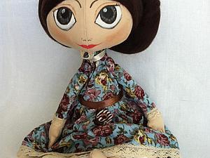 Текстильная кукла для начинающих, часть II. | Ярмарка Мастеров - ручная работа, handmade