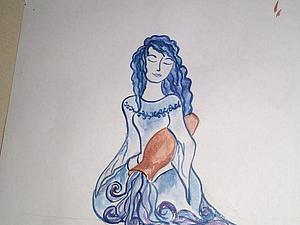 История одной небесной девы | Ярмарка Мастеров - ручная работа, handmade