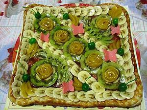 Образцы пирогов с фруктами | Ярмарка Мастеров - ручная работа, handmade