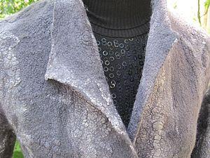 Бесшовная войлочная одежда   Ярмарка Мастеров - ручная работа, handmade