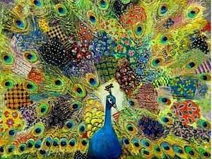 Лоскутное шитье в картинах художника  Ладо Тевдорадзе | Ярмарка Мастеров - ручная работа, handmade