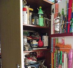 Как хранить материалы для творчества в шкафу. Ярмарка Мастеров - ручная работа, handmade.