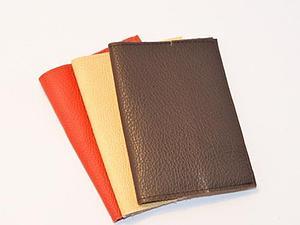 Кожаные обложки для паспорта, основа для росписи и декупажа | Ярмарка Мастеров - ручная работа, handmade