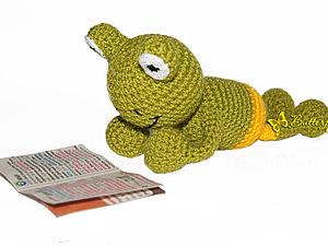 Лягушонок Ква крючком | Ярмарка Мастеров - ручная работа, handmade