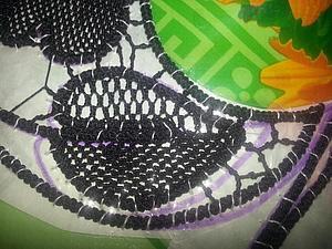 Делаем тюлевый шов с узелком. Ярмарка Мастеров - ручная работа, handmade.