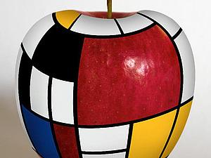 Творческий тандем Piet Mondrian и Yves Saint Laurent: рождение стиля ХХ века. Ярмарка Мастеров - ручная работа, handmade.