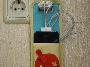 Держатель для телефона | Ярмарка Мастеров - ручная работа, handmade