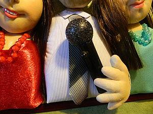 Как сделать миниатюрный микрофон. Ярмарка Мастеров - ручная работа, handmade.
