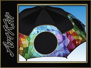 Роспись по ткани: зонт, футболка или сумка. | Ярмарка Мастеров - ручная работа, handmade