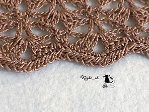 Как обработать крючком края вязаного изделия. Ярмарка Мастеров - ручная работа, handmade.