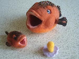 Рыбный день. Валяем симпатичные игрушки. Ярмарка Мастеров - ручная работа, handmade.