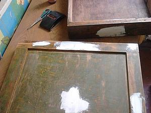 Первый опыт реставрации мебели. | Ярмарка Мастеров - ручная работа, handmade