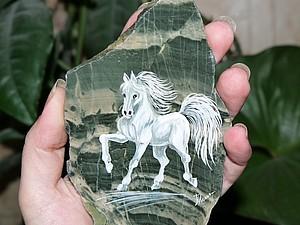 Акция на сувениры из натуральной яшмы Год лошади - 2014 | Ярмарка Мастеров - ручная работа, handmade