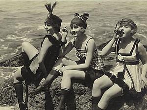 Эволюция купальника | Ярмарка Мастеров - ручная работа, handmade