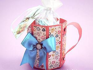 Подарок своими руками: кружка из бумаги. Ярмарка Мастеров - ручная работа, handmade.
