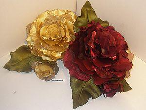 мастер-класс по изготовлению мягкой розы без инструментов | Ярмарка Мастеров - ручная работа, handmade