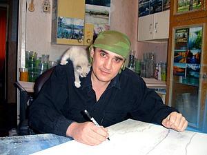 Самобытный художник Алексей Мосман и его «каменные» картины | Ярмарка Мастеров - ручная работа, handmade