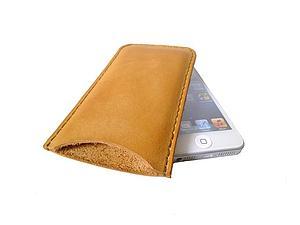 Предновогодняя скидка 30% на кожаные чехлы для iPhone 5! | Ярмарка Мастеров - ручная работа, handmade