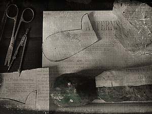 Немного закулисья на примере мишки-русский антик   Ярмарка Мастеров - ручная работа, handmade