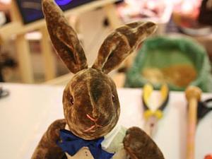 Заяц. Мягко-набивная игрушка по выкройке 1930-40 годов   Ярмарка Мастеров - ручная работа, handmade