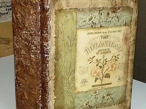 Новинка! Шкатулка-книга  декупаж, имитационные техники | Ярмарка Мастеров - ручная работа, handmade