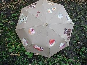 Мастер-класс по росписи зонтов.   Ярмарка Мастеров - ручная работа, handmade