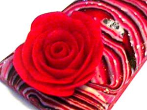 МК – украшения из полимерной глины «узоры с блеском потали + Розы» | Ярмарка Мастеров - ручная работа, handmade