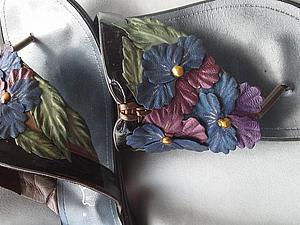 Декорируем старую обувь. Ярмарка Мастеров - ручная работа, handmade.