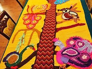 Вяжем покрывало «Волшебные птицы». Ярмарка Мастеров - ручная работа, handmade.
