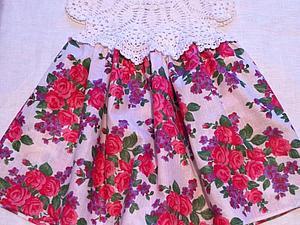 Скидка 20% на платье Розовый сад | Ярмарка Мастеров - ручная работа, handmade