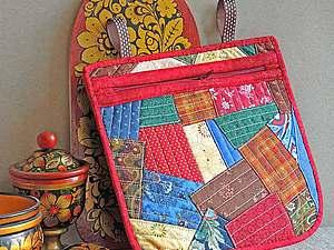 Шьем лакомник в русском стиле из лоскутков | Ярмарка Мастеров - ручная работа, handmade