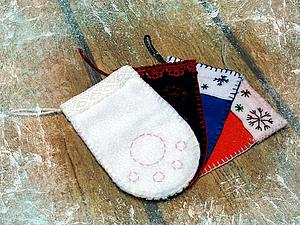 """""""Носочки-лапки"""" на Новый  Год!. Ярмарка Мастеров - ручная работа, handmade."""