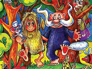 Иллюстрации Ольги Анциферовой к сказке фэнтези. Ярмарка Мастеров - ручная работа, handmade.