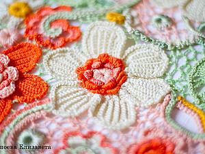 Цветной кружевной декор | Ярмарка Мастеров - ручная работа, handmade