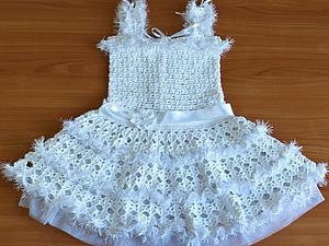 Новинка! Детское новогоднее платье