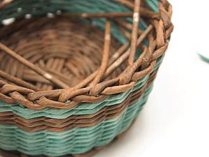 Видео мастер-класс: как легко и красиво закончить плетёное изделие. Ярмарка Мастеров - ручная работа, handmade.