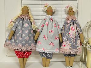 МК по шитью куклы Тильды
