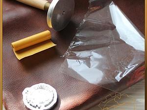 Еще раз про тиснение на коже. Мастер-класс. Ярмарка Мастеров - ручная работа, handmade.