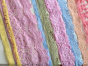Красим кружево и ткани. Ярмарка Мастеров - ручная работа, handmade.