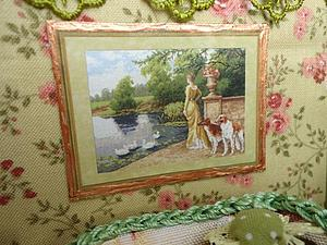 Дворянская усадьба (диорама) | Ярмарка Мастеров - ручная работа, handmade