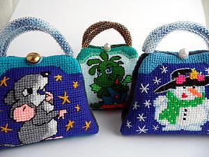 Изготовление сумочки-игольницы | Ярмарка Мастеров - ручная работа, handmade