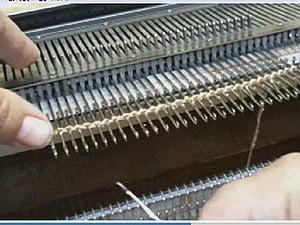 Начало работы на вязальной машине.. Ярмарка Мастеров - ручная работа, handmade.