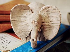 Аукцион с нуля на чудесного слона!) | Ярмарка Мастеров - ручная работа, handmade