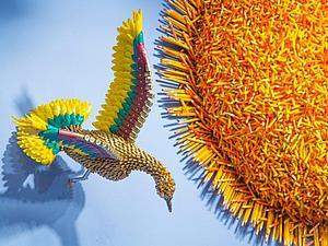 Потрясающие скульптуры из предметов быта от Federico Uribe: карандаши, шнурки и провода как материал для творчества. Ярмарка Мастеров - ручная работа, handmade.