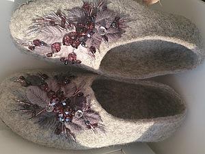 МК по вышивке лентами или на войлоке | Ярмарка Мастеров - ручная работа, handmade